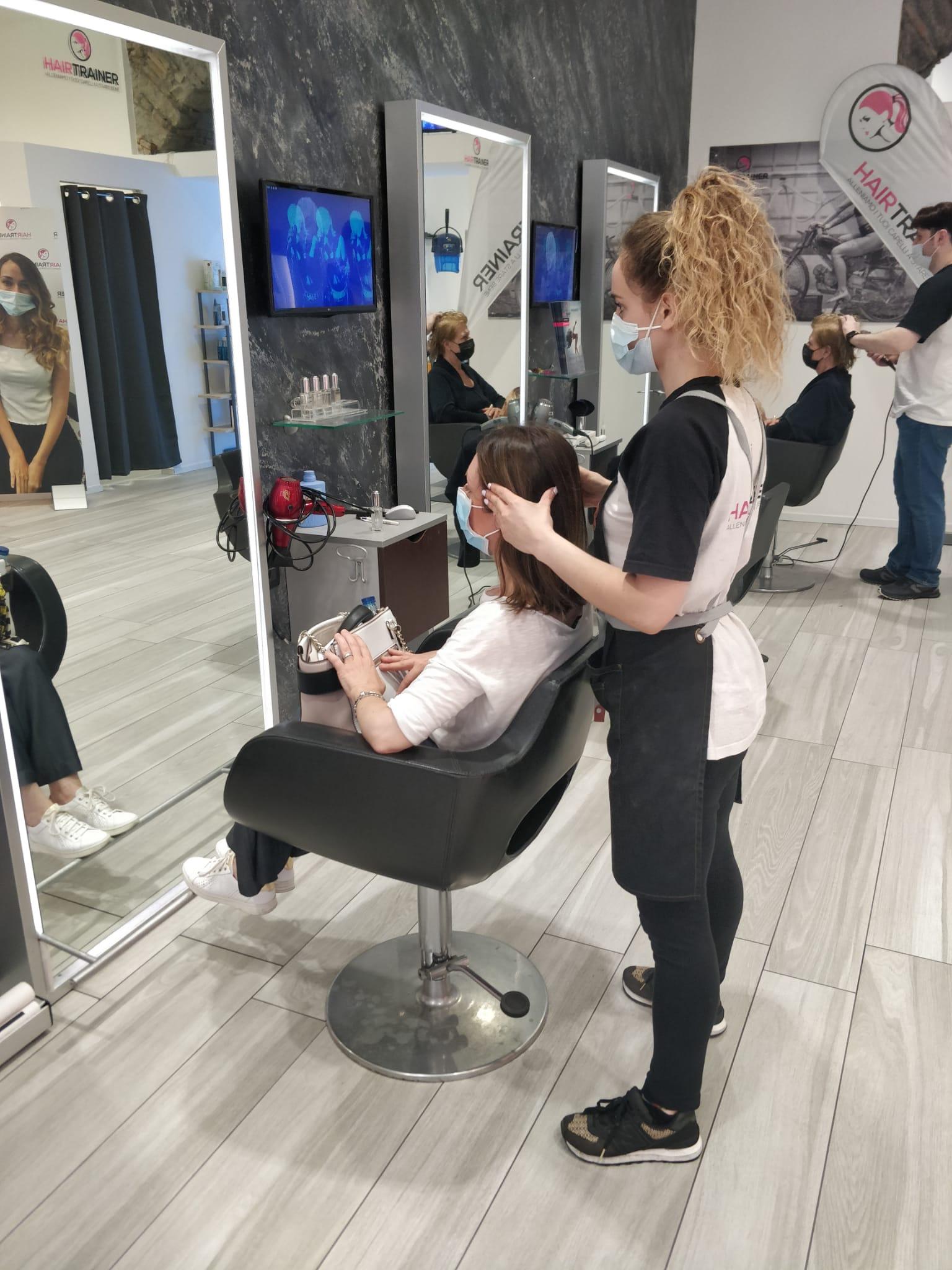 allena i tuoi capelli a stare bene